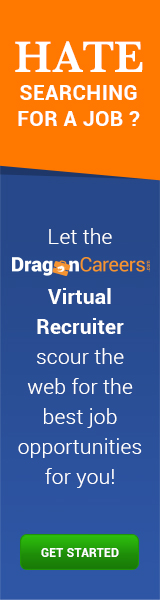 Virtual Recruiter - Let DragonCareers Find You Jobs!